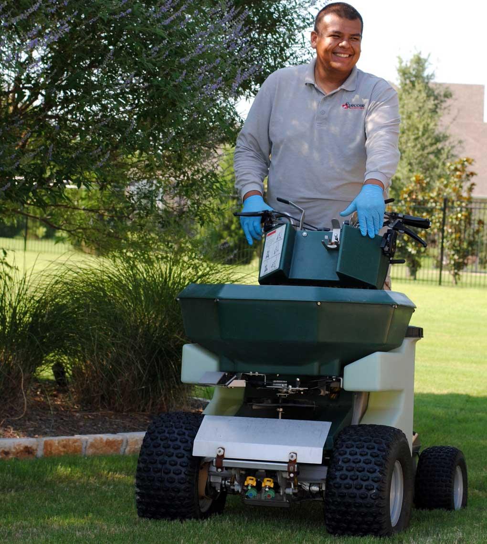 weed control lawn fertilization dallas texas