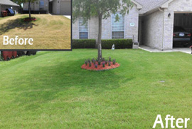 lawn maintenance service denton county tx